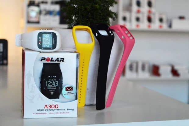 dāvana sportiskiem cilvēkiem | polar a300 | pulsometrs.lv