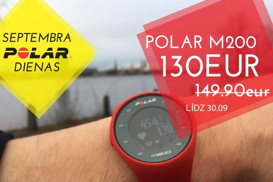 polar m200 pulsometrs