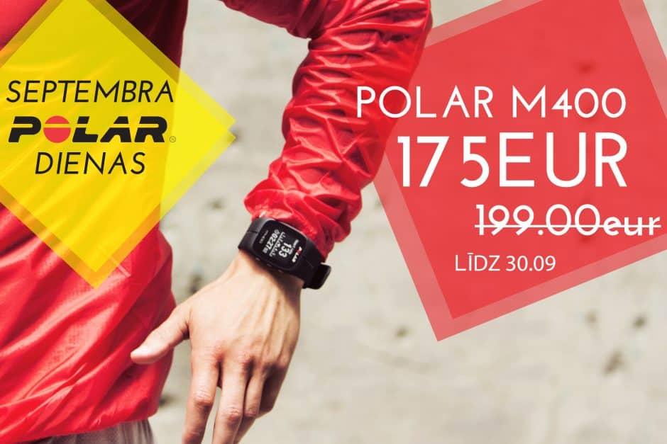 polar m400 pulsometrs