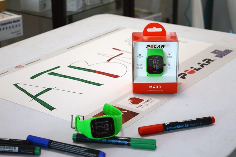 Polar M430 plakātu konkurss | pulsometrs.lv