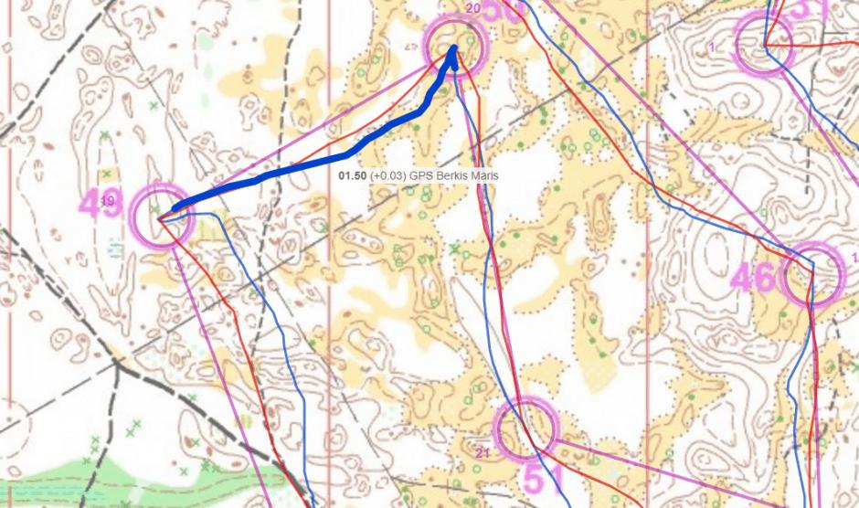 routegadget orientēšanās maršruts | pulsometrs.lv