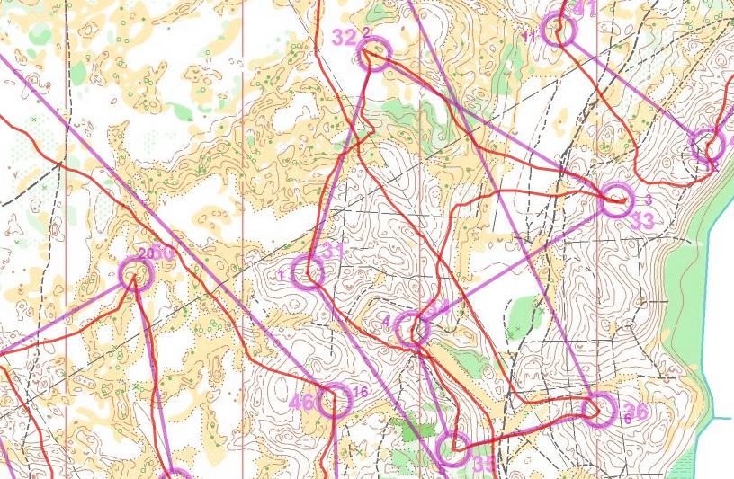 gps ielāde orientēšanās kartē