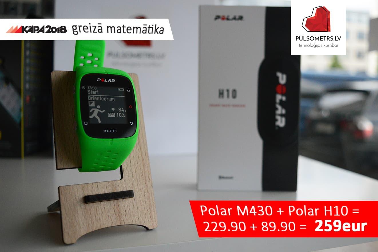polar h10 + polar M430