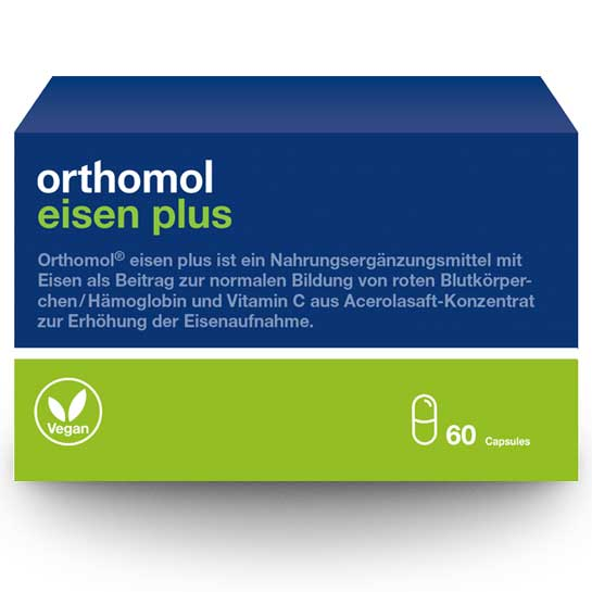 orthomol eisen plus