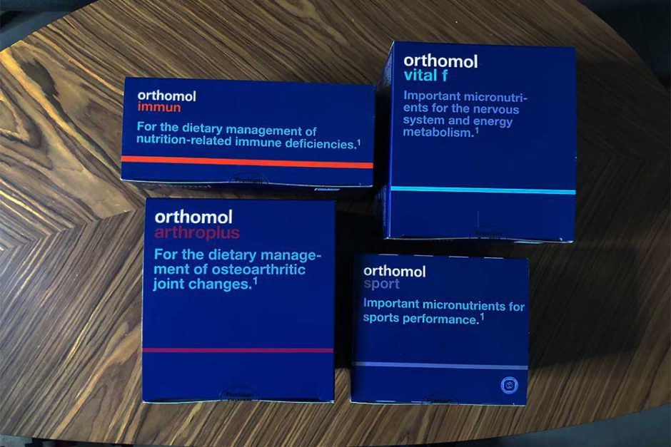orthomol vitamīni