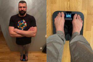 Armands Simsons un Garmin Index S2 svari - kā neuzaudzēt liekus kg?
